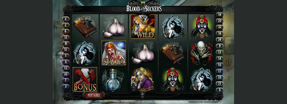 Blood Suckers kolikkopeli