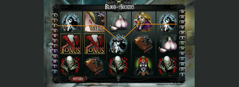 Blood Suckers hedelmäpeli