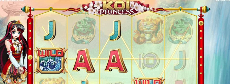 Koi Princess kolikkopeli
