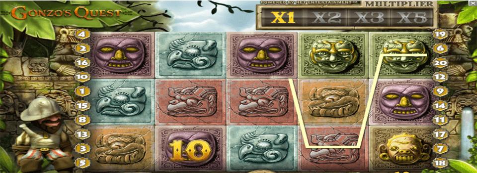 Gonzo´s Quest kolikkopeli