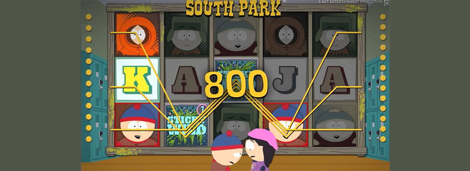South Park kolikkopeli