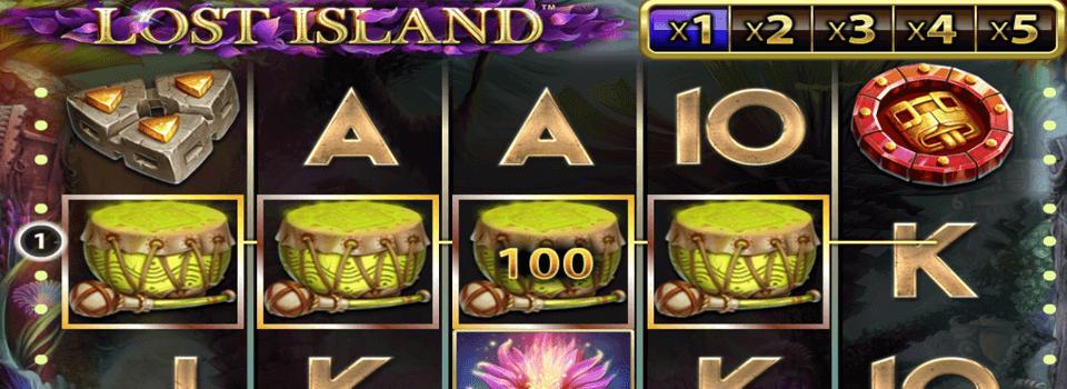 Lost Island kolikkopeli