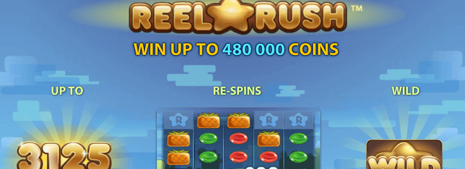 Reel Rush kolikkopeli
