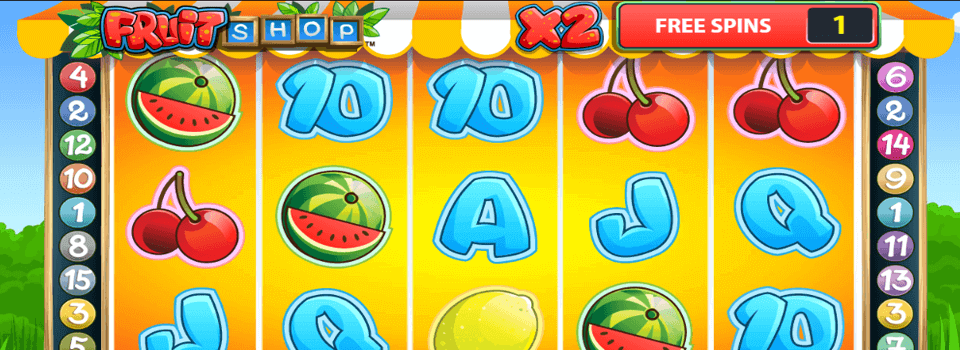 Fruit Shop hedelmäpeli
