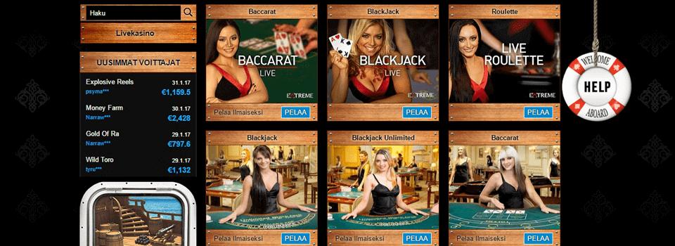 Company Casino bonus