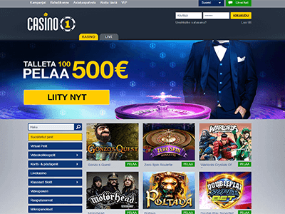 Casino1Club uudet nettikasinot