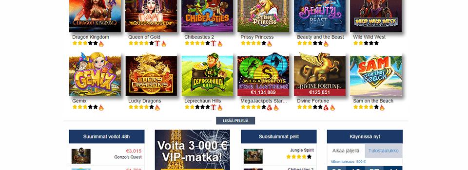 Finlandia casino bonus