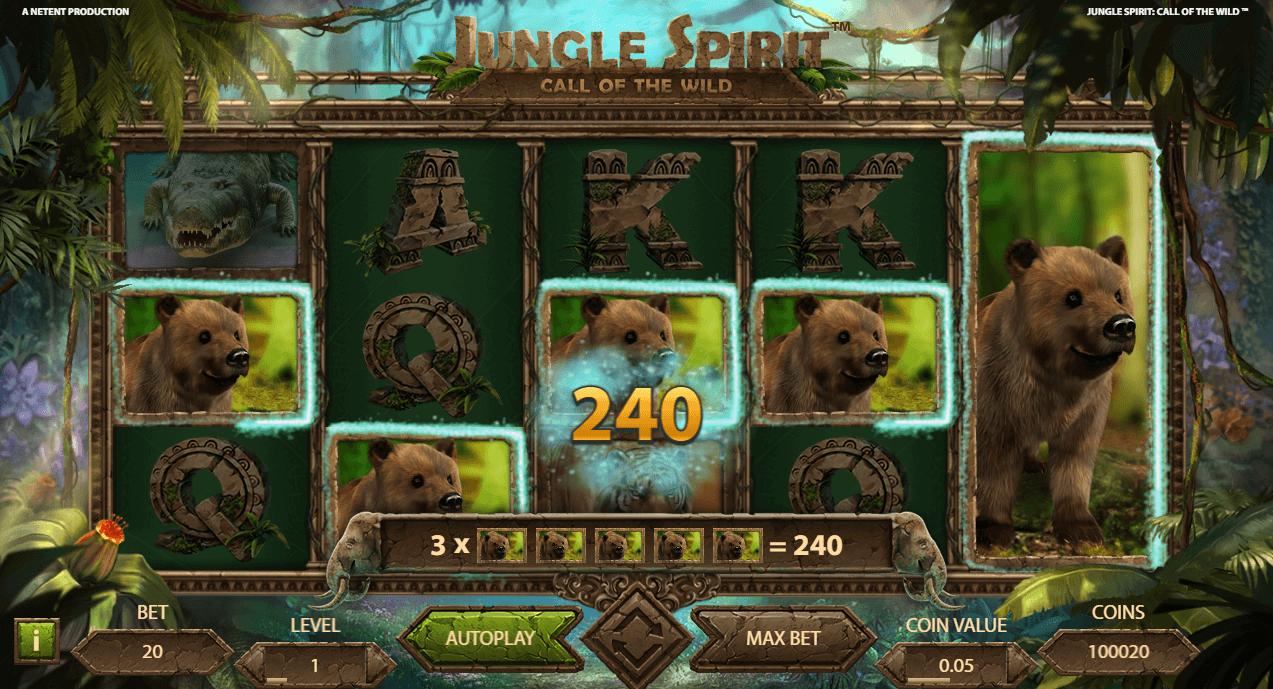 Ilmaiskierrokset Jungle Spirit