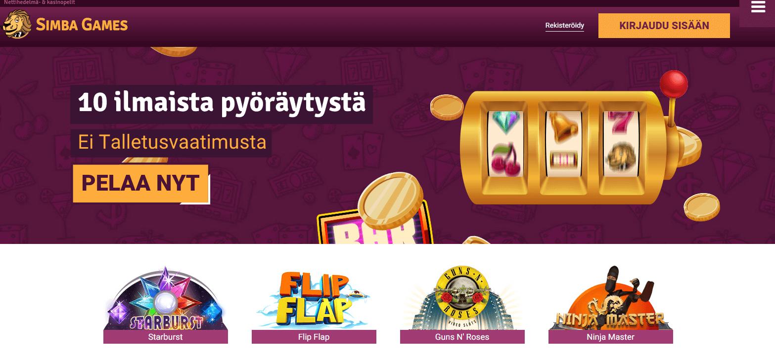 Bonus Simba Games