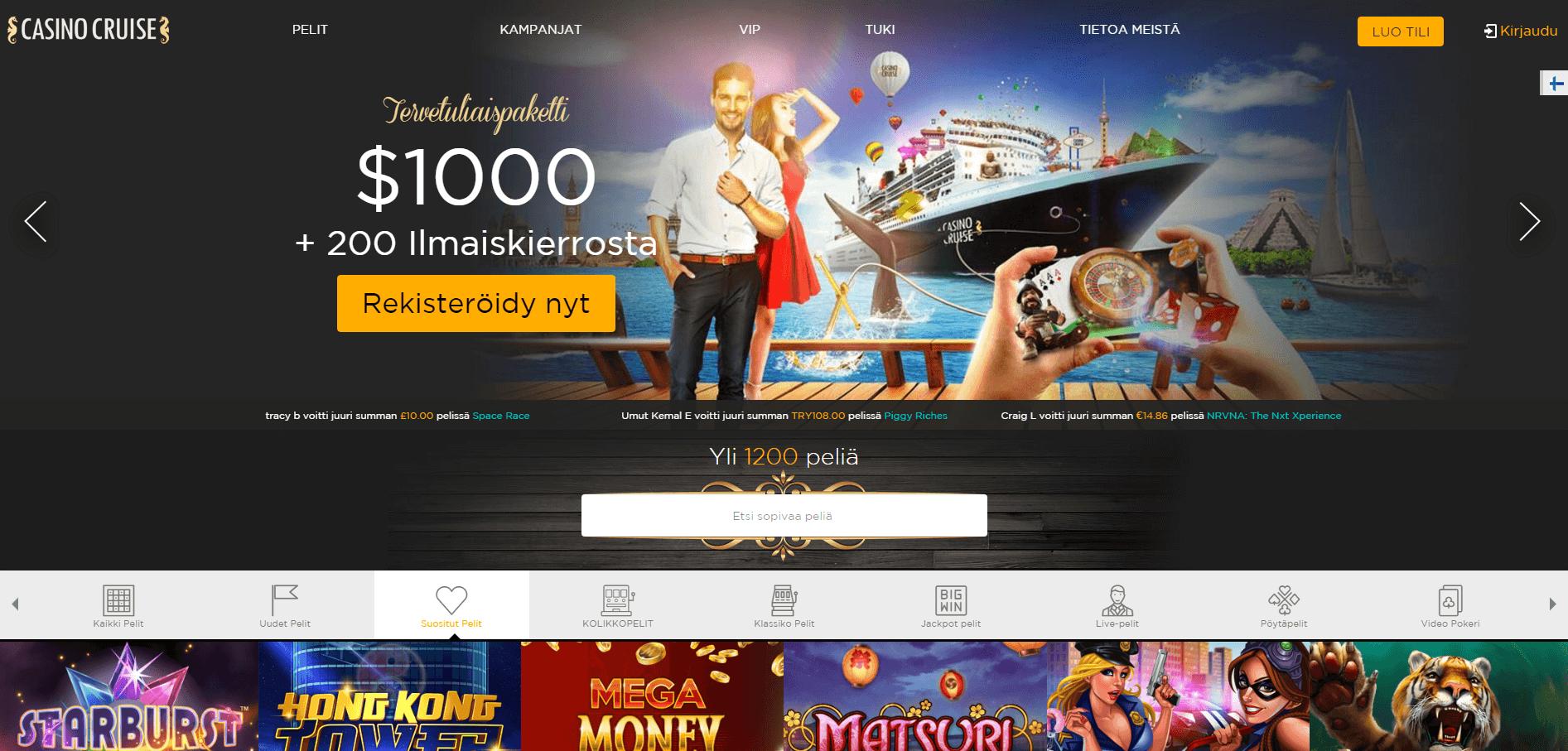 Kampanja Casino Cruise