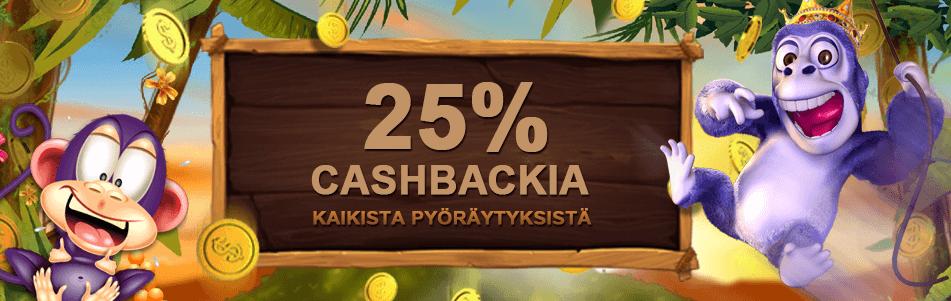 Cashback bonus Videoslots