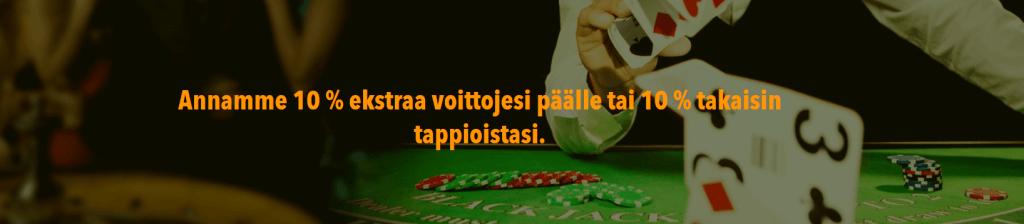 Löydä kasino bonus
