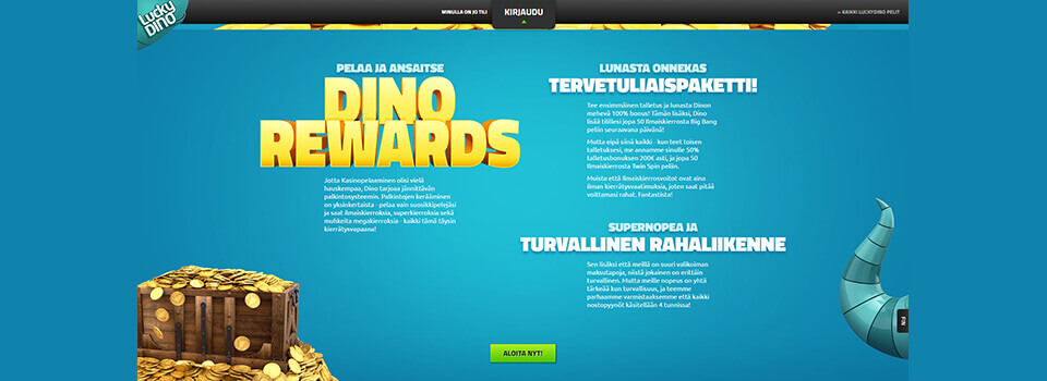 Lucky Dino casino bonus