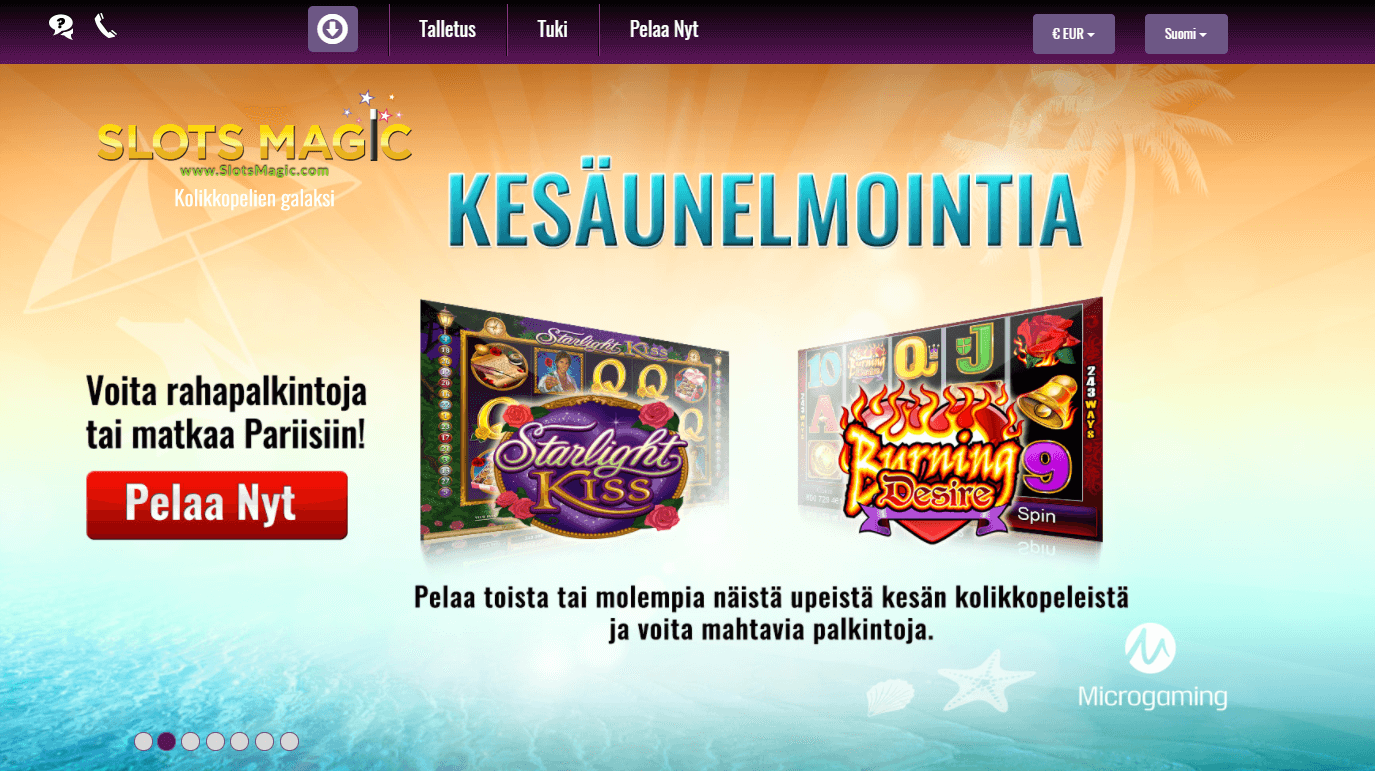 SlotsMagic Bonukset