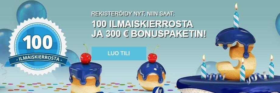 Finlandia Casino syntymäpäiväjuhlat