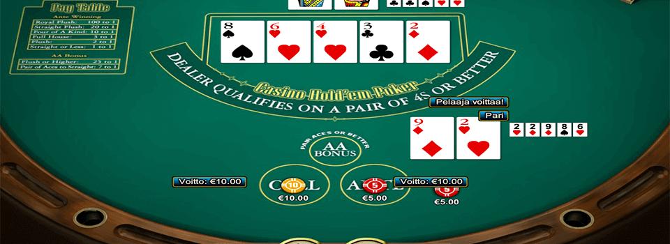Casino Hold´em ilmaiseksi