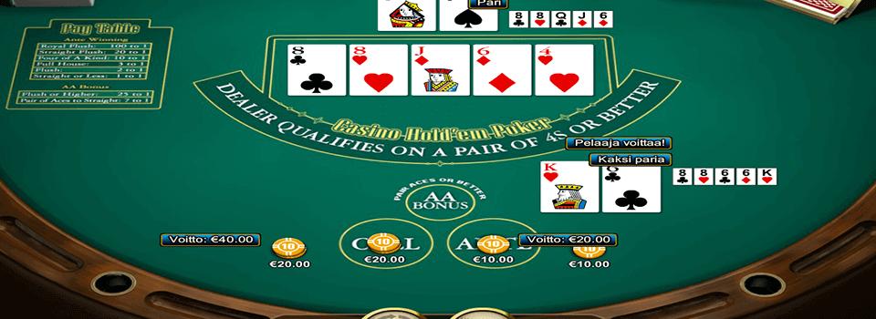 Casino Hold´em pokeripeli