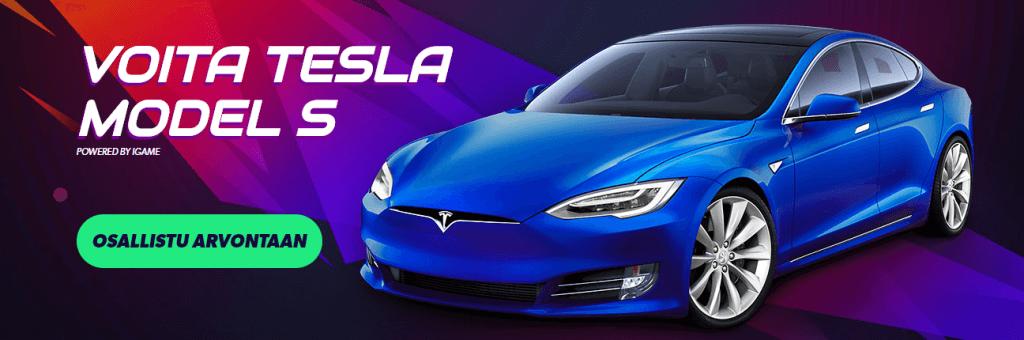 Voita Tesla auto Igamella