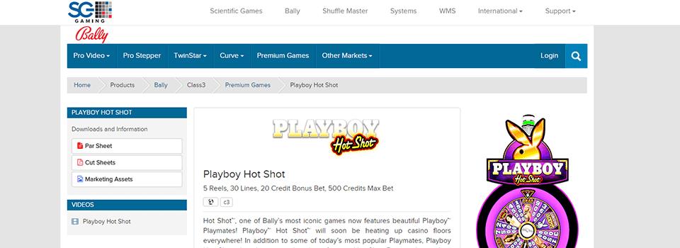 Bally Gaming pelit