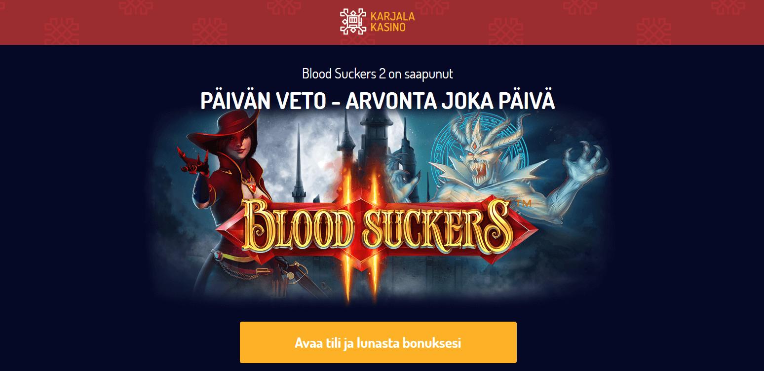 Blood Suckers 2 ilmaiskierroksia