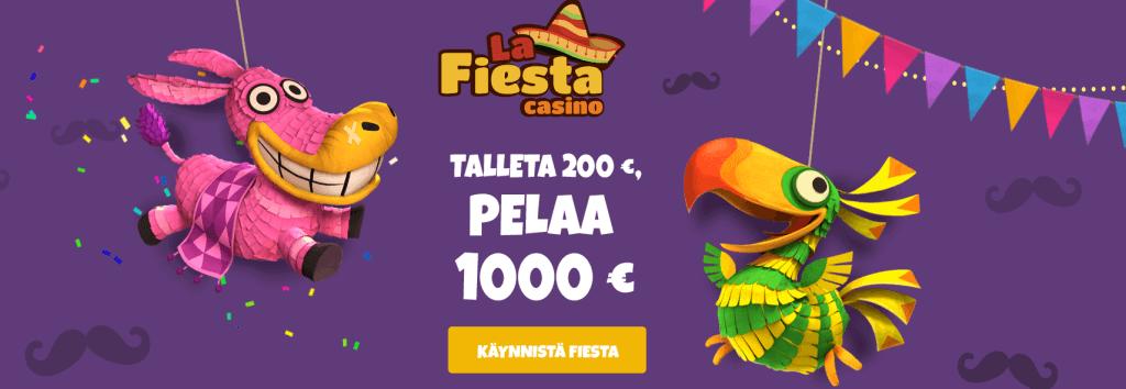 La Fiesta Casino tervetuliaisbonus
