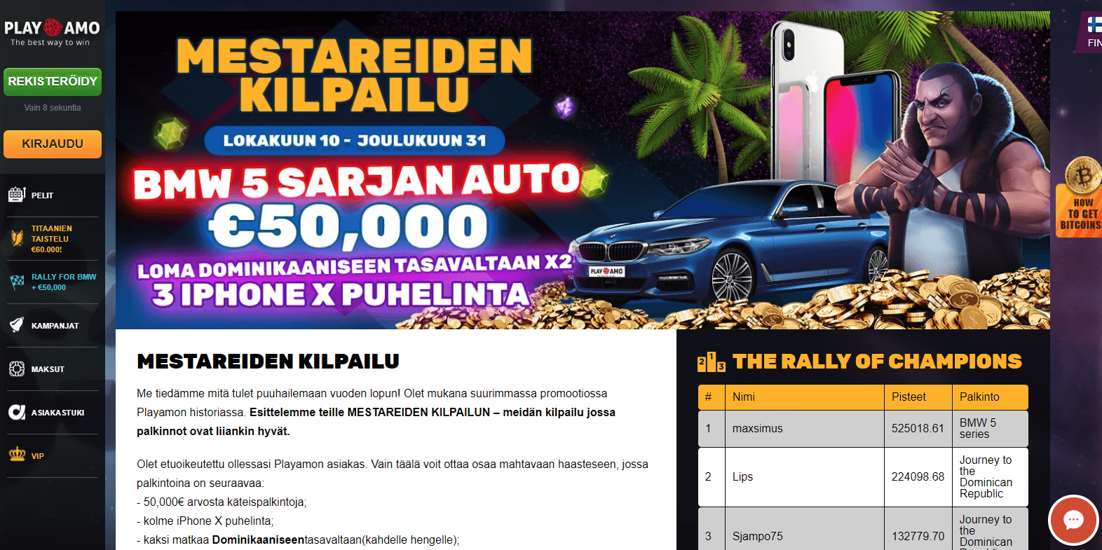 Playamo BMW kampanja