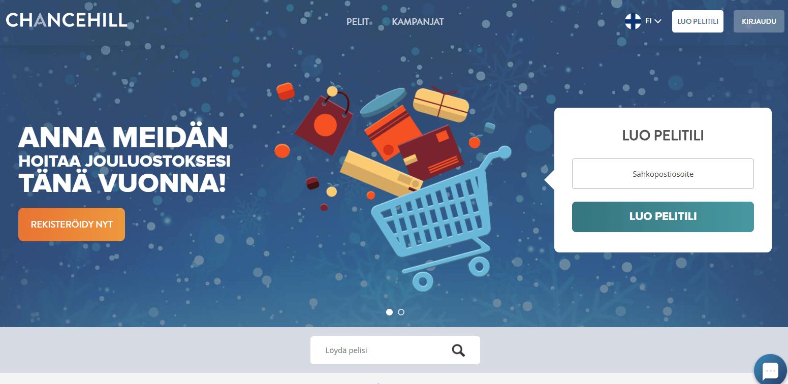 Chancehill joulukampanja