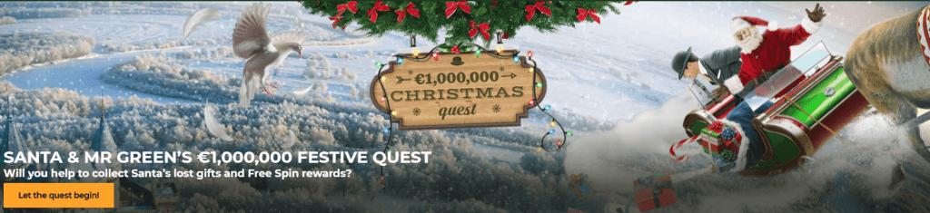 Joulukampanja MrGreen