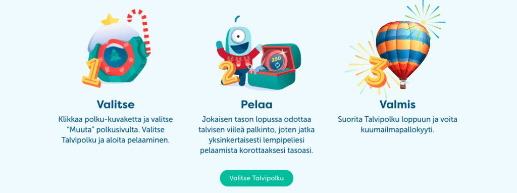 PlayFrank kasinon joulukampanja