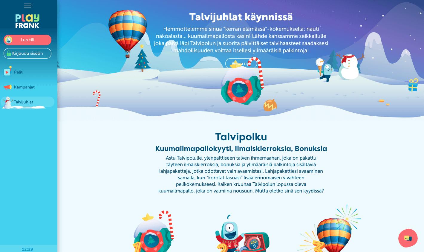 PlayFrankin talvijuhlat
