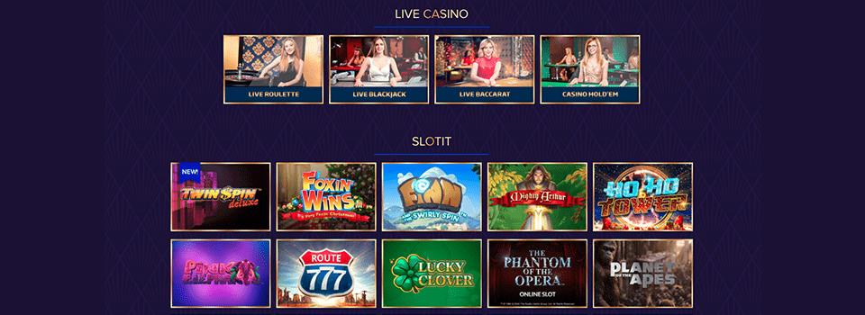 Live Lounge casino bonus