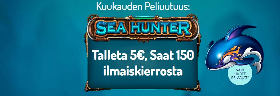 Sea Hunter ilmaiskierrokset
