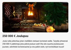 LeoVegas_250_000_euron_joulupuu