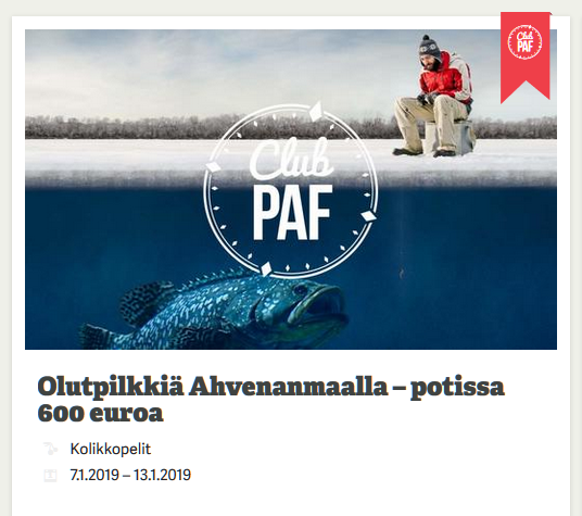 Paf_olutpilkille_Ahvenanmaalle