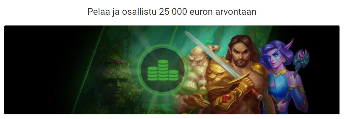 Unibet 10 000 euron matkalahjakortti