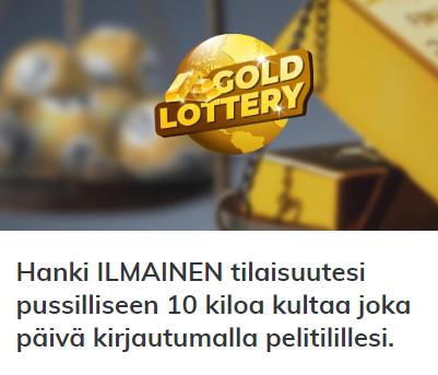 Multilotto 10 kiloa kultaa