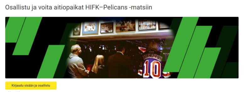 Unibet -HIFK - PELICANS