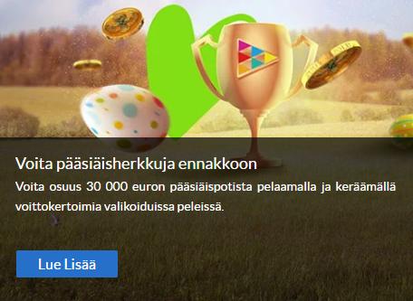 Suomiarpojen pääsiäisherkut ennakkoon