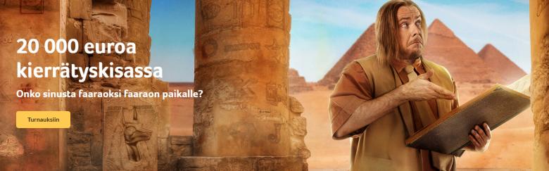 kolikkopelit ja Faaraoiden kunkku