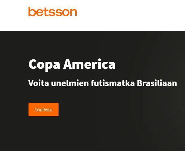 Betsson ja Voita matka Brasiliaan