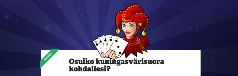 Paf - Ilmaiskierroksia Double Joker Pokeriin
