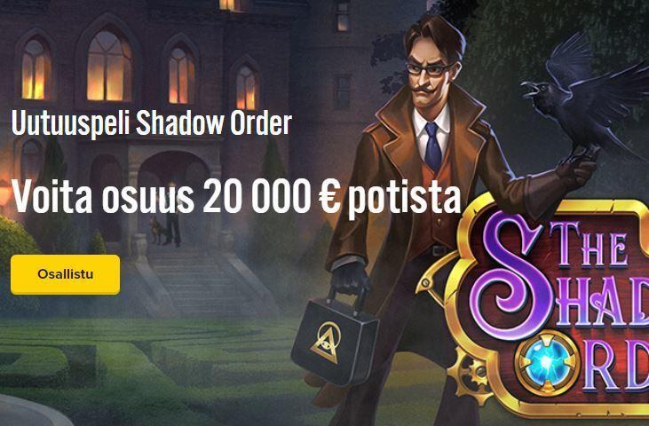 iGame ja uusi kolikkopeli nimeltään Shadow Order