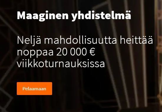 Betsson ja Maaginen yhdistelmä -kampanja