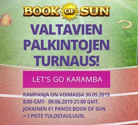 Karamba - Book of Sun -kampanja