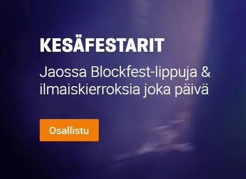 Nordicbet ja Kesäfestarit