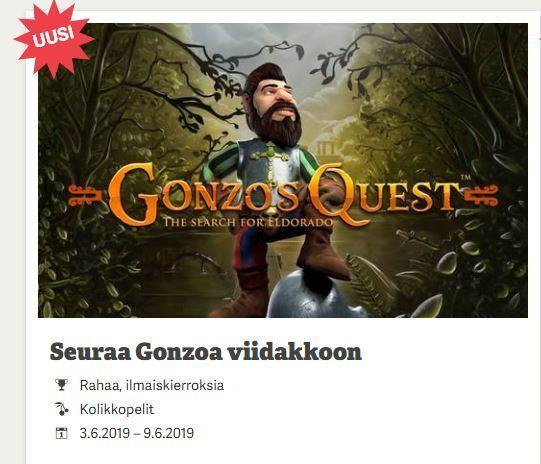 Paf Ja Gonzo's Quest -kisa