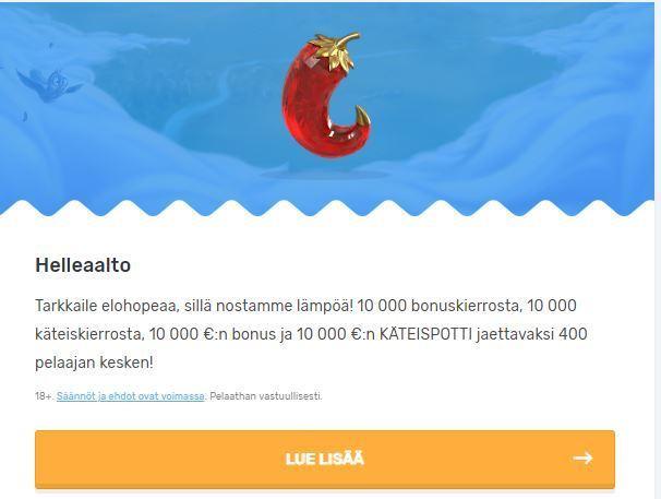 Casilando - 10 000 euroa