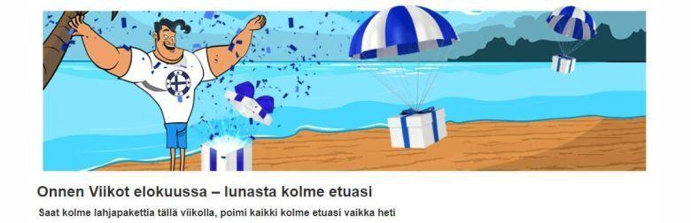 Finlandia kasino ja elokuun edut