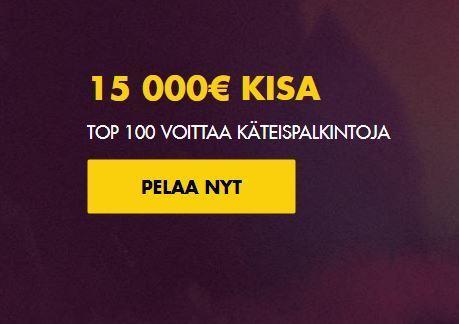 Bethard - 15 000 euron kisa
