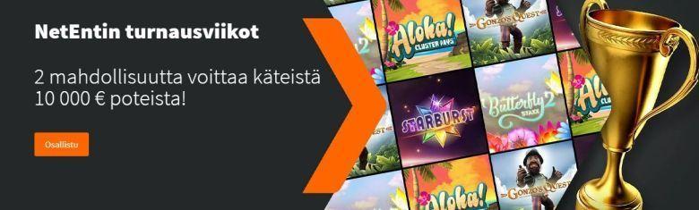 Betsson - NetEntin turnausviikot